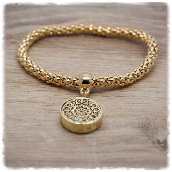 Armband gold mit Anhänger