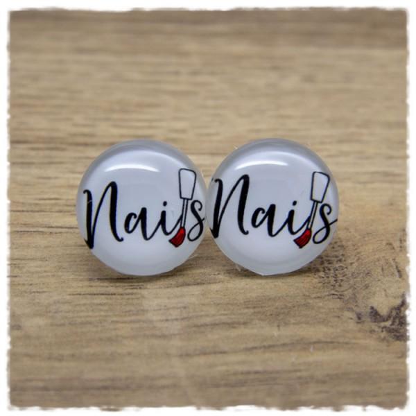 1 Paar Ohrstecker Nails