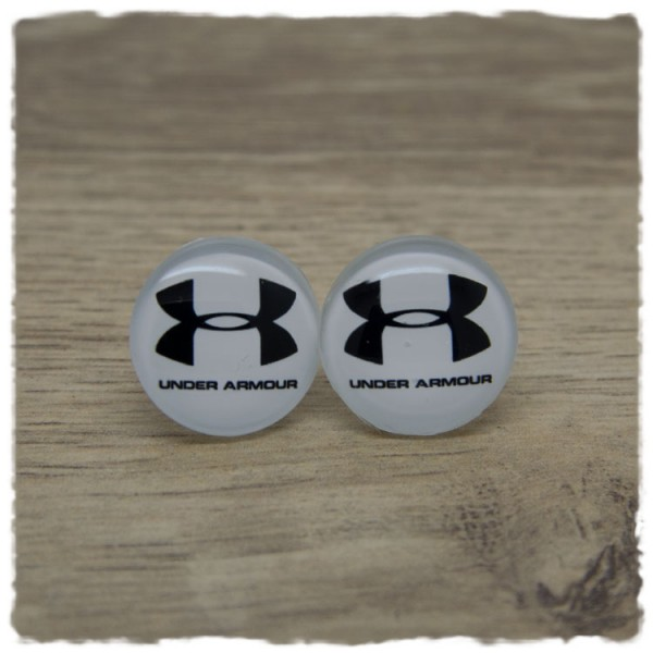 1 Paar Ohrstecker in 20 mm UNDER ARMOUR
