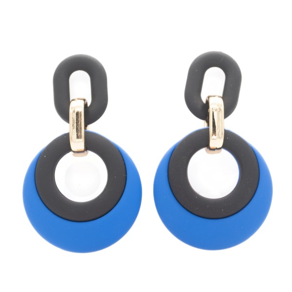 1 Paar Ohrstecker in 20 mm gelb mit Muschel und Seestern (wahlweise als Ohrclips)