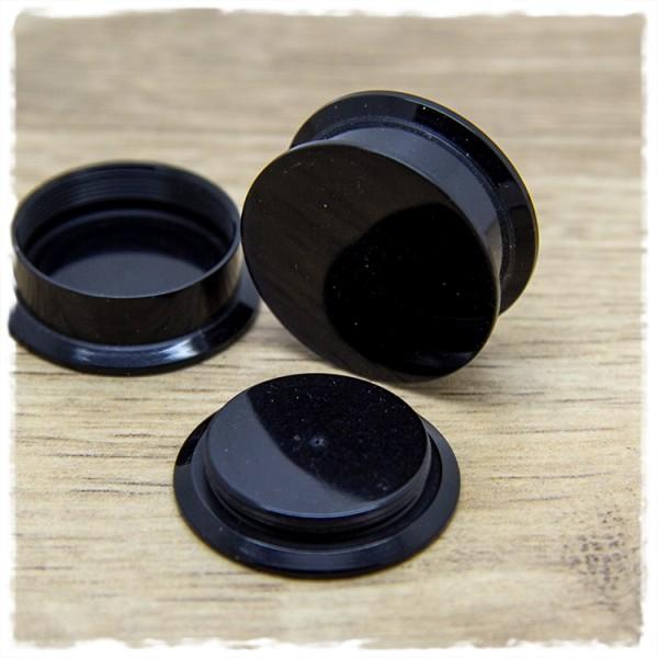 1 Paar Plugs 22mm zweiteilig