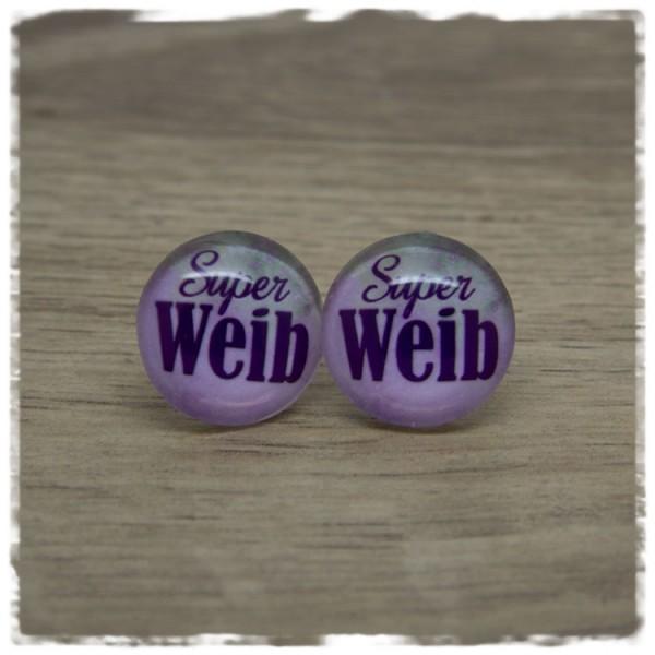1 Paar Ohrstecker Superweib