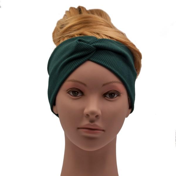 Haarband dunkelgrün