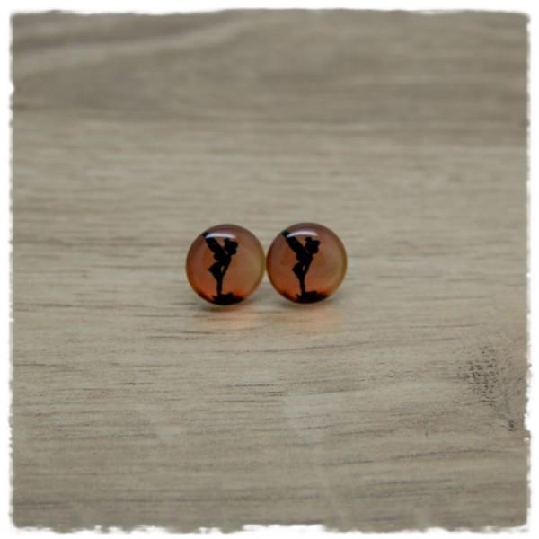 1 Paar Ohrstecker in 12 mm mit Fee