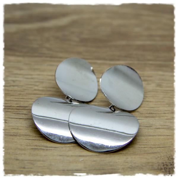 1 Paar Ohrhänger in 25 mm silbern