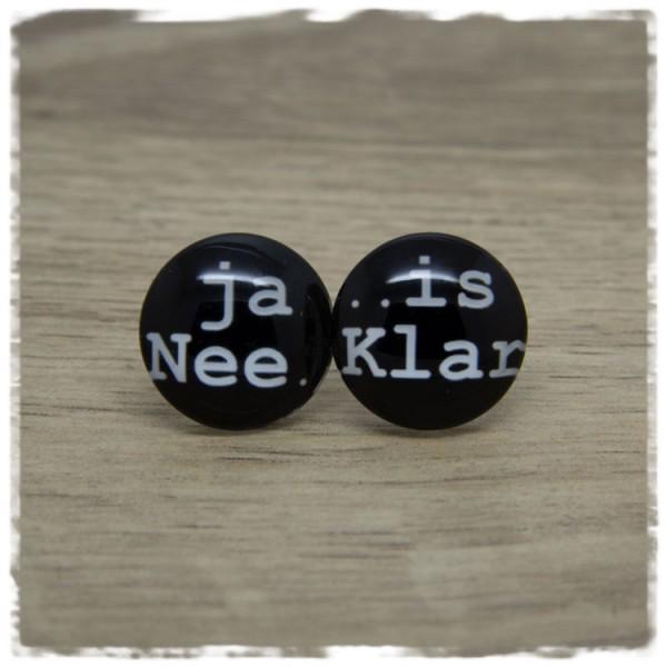 1 Paar Ohrstecker ja Nee ...is Klar