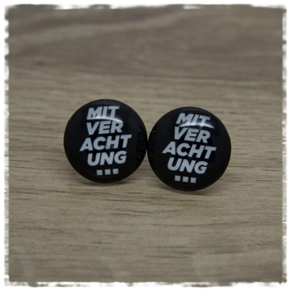 1 Paar Ohrstecker in 20 mm MIT VERACHTUNG
